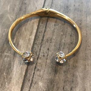 Kate Spade Gold Bracelet with Stones